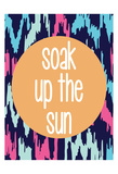 Soak Upthe Sun Art by Laura Lobdell
