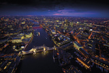 Sky View London II Prints by Jason Hawkes
