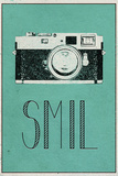 SMIL (Danish -  Smile) Print
