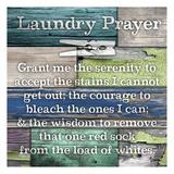 Laundry Prayer Poster van Diane Stimson