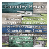 Laundry Prayer Posters by Diane Stimson