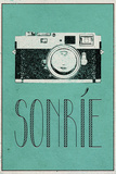SONRIE (Spanish -  Smile) Prints