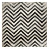 Black White Geo Pattern Art par Jace Grey