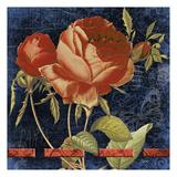 Vintage Floral 2 Poster by Carole Stevens