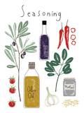 Seasoning Prints by Laure Girardin Vissian