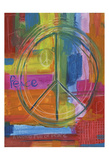 Peace Abstract Poster by Smith Haynes
