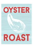Oyster Roast Print by Laura Lobdell