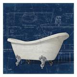 Bath Blues 2 Art by Diane Stimson