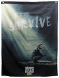 The Walking Dead - Rick Survive Banner Poster