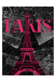 Pink Paris Posters by Jace Grey