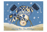 Hurray For The Holidays Prints by Laurie Korsgaden