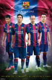 FC Barcelona - Team 14 Posters