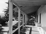 Porch of the Old Custom House Photographic Print by GE Kidder Smith