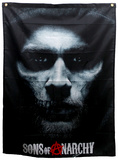 Sons of Anarchy - Jax Skull Banner Affiches
