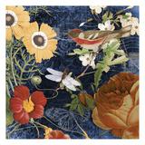 Vintage Floral 4 Posters by Carole Stevens