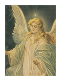 The Guardian Angel - Detail Prints by  The Vintage Collection