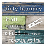Dirty Laundry Prints by Diane Stimson