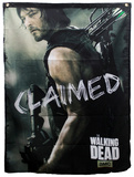The Walking Dead - Daryl Claimed Banner Print