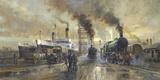 Hull Docks Giclee Print by Alan Fearnley