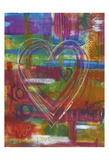 Love Heart Abstract Prints by Smith Haynes