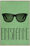 ENTSPANNE (German -  Relax) Poster