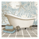 Coral Bath 2 Posters by Carole Stevens