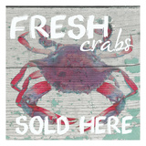 Fresh Crabs Prints by Taylor Greene