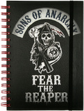 Sons of Anarchy Fear the Reaper Spiral Journal Journal