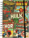 Marvel Cover Collage Spiral Journal Journal