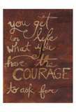 Courage To Ask Print by Smith Haynes