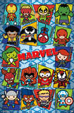 Marvel - Kawaii Grid Posters