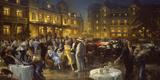 Apres L'Opera Giclée-tryk af Alan Fearnley