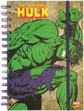 The Incredible Hulk Retro Spiral Journal Journal