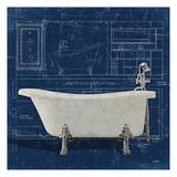 Bath Blues 1 Posters by Diane Stimson