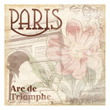 Paris Arc Prints by Jace Grey
