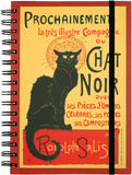 Chat Noir Spiral Journal Journal