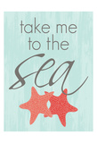 Take Metothe Sea Prints by Laura Lobdell