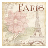 Paris Eiffel Poster by Jace Grey
