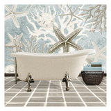 Coral Bath 1 Prints by Carole Stevens