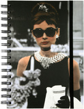 Audrey Breakfast at Tiffany's Spiral Journal Journal
