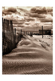 Sepia Beach House 6 Prints by Scott Cushing