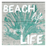 Beach Life Print by Taylor Greene