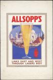Allsopp's Lager, 1920S. Artist: Wilfred Fryer Photographic Print
