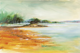 West Coast Inlet Giclee Print by Anne Farrall Doyle