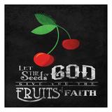 Red Fruits Affiches par Jace Grey