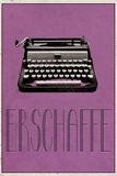 ERSCHAFFE (German -  Create) Poster