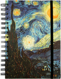 Van Gogh Starry Night Spiral Journal Journal
