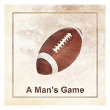 A Man'S Game Prints by Sheldon Lewis
