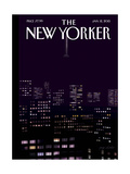 The New Yorker Cover - January 12, 2015 Regular Giclee Print by Jorge Colombo