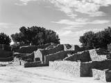 Pueblo Ruins at Aztec Ruins National Monument Photographic Print by GE Kidder Smith